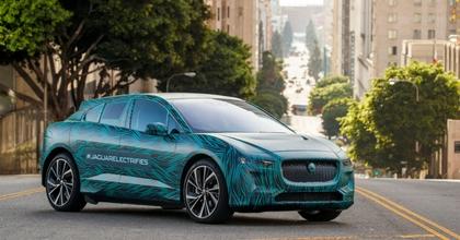 Nuova Jaguar I-Pace 2018 statica