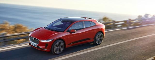 Nuova Jaguar I-Pace 2018 su strada