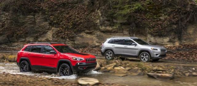 Nuova Jeep Cherokee 2018 in azione