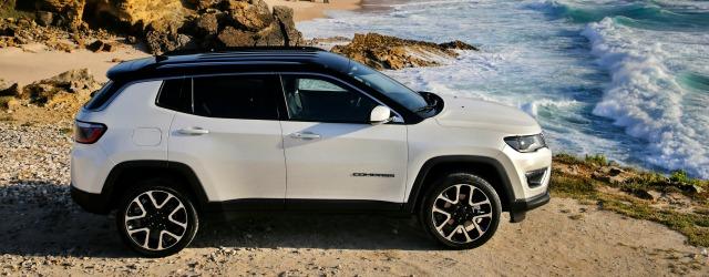Nuova Jeep Compass 2017 statica