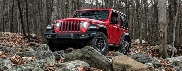Tra le auto fuoristrada c'è la nuova Jeep Wrangler 2019