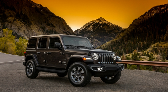 Salone Los Angeles 2017 Jeep Wrangler