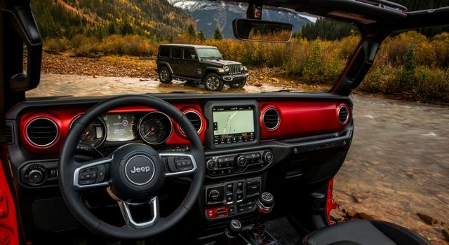 Salone Los Angeles 2017 nuova Jeep Wrangler