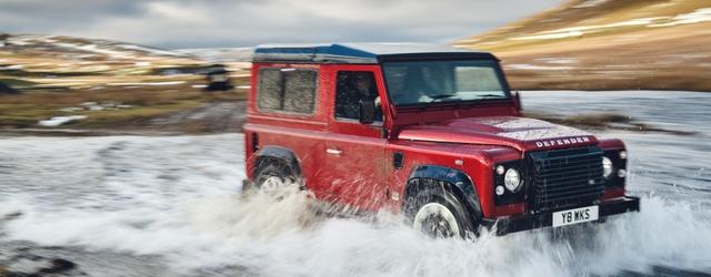 Tra le auto fuoristrada c'è la nuova Land Rover Defender Works V8 2018