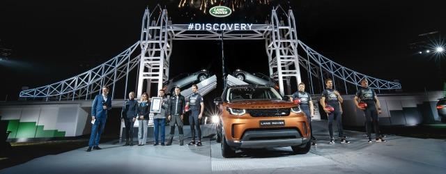 Nuova Land Rover Discovery 2017 Motor Show Bologna
