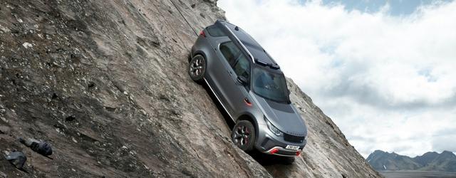 La nuova Land Rover Discovery SVX 2018 è tra le auto fuoristrada