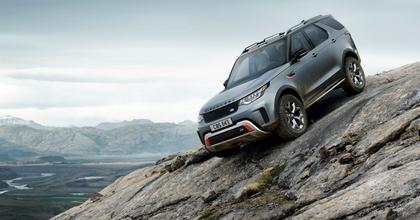 Tra le auto fuoristrada c'è la nuova Land Rover Discovery SVX 2018