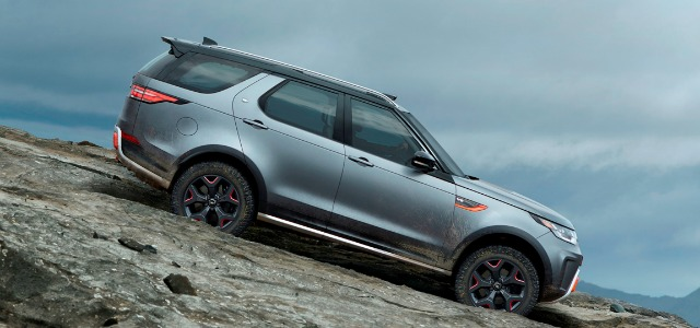 Nuova Land Rover Discovery SVX Salone Francoforte 2017