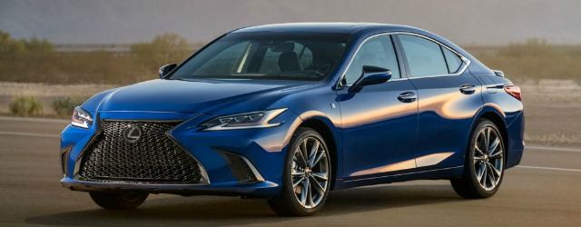 Nuova Lexus ES 2018
