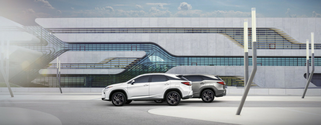 Nuova Lexus RX L Hybrid 2018 forme