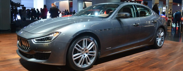 Nuova Maserati Ghibli 2018, Francoforte