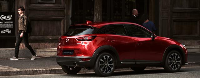 Nuova Mazda CX-3 2018 restyling