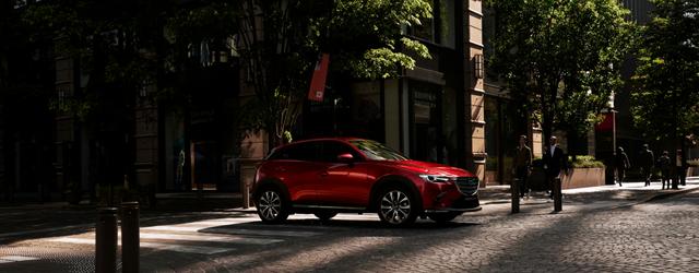 Nuova Mazda CX-3 2018 su strada