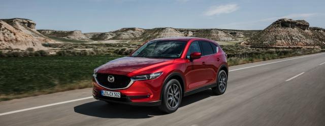 Gamma Mazda 2018: Nuova Mazda CX-5 su strada