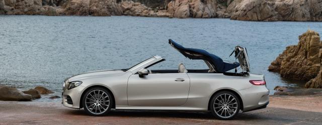 Nuova Mercedes Classe E Cabrio Salone di Ginevra