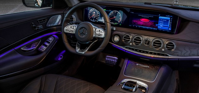 Nuova Mercedes Classe S abitacolo