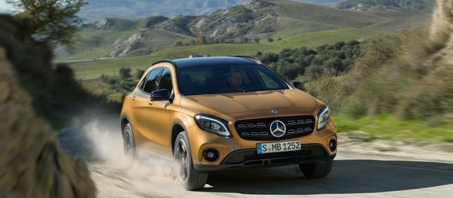 Nuova Mercedes GLA
