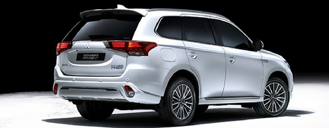 Nuova Mitsubishi Outlander PHEV 2018 statica