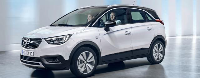 Nuova Opel Crossland X 2017