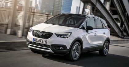 Nuova Opel Crossland X 2017 dinamica