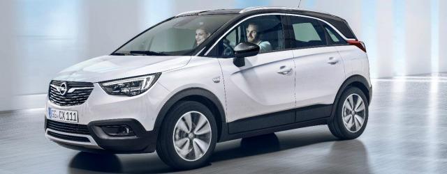 B-Suv Opel Crossland X 2017