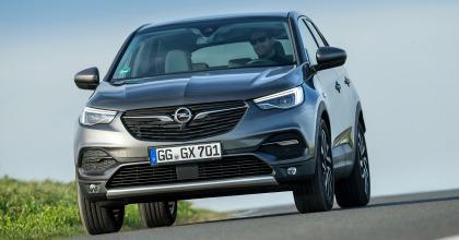 Nuova Opel Grandland X dinamica