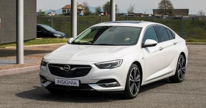 Nuova Opel Insignia Grand Sport 2017 anteprima Fleet Motor Day