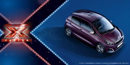 Nuova Peugeot 108 a X Factor