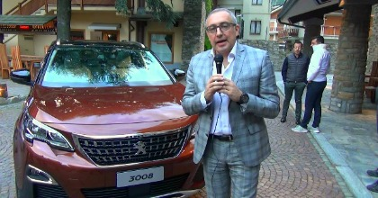 Vito Saponaro e la nuova 3008
