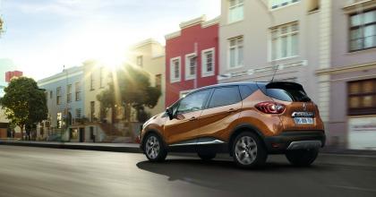 nuova Renault Captur 2017 su strada