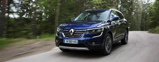 Nuova Renault Koleos 2017 su strada