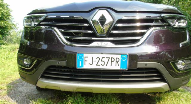 Nuova Renault Koleos calandra