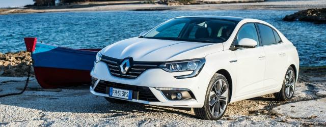 Nuova Renault Mégane Grand Coupé 2017 statica