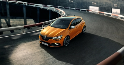 Renault al Salone di Francoforte 2017 ha svelato la nuova Mégane R.S.