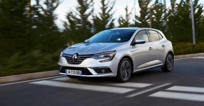 Nuova Renault Mégane aziendale grigia