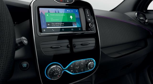 Nuova Renault Zoe 2018 sistema multimediale
