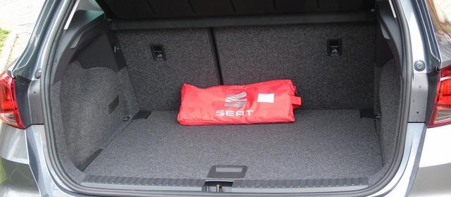 Nuova Seat Arona bagagliaio