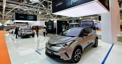 Nuova Toyota C-HR 2016 Motor Show