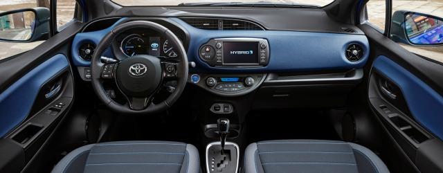 Nuova Toyota Yaris 2017 abitacolo