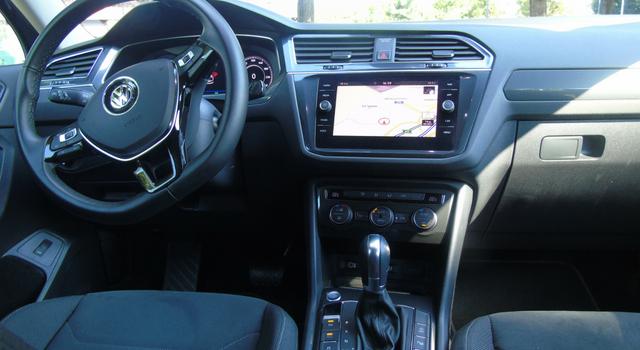 Nuova Volkswagen Tiguan Allspace 2018 interni