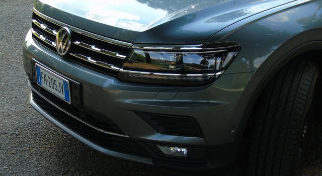 Nuova Volkswagen Tiguan Allspace 2018 calandra