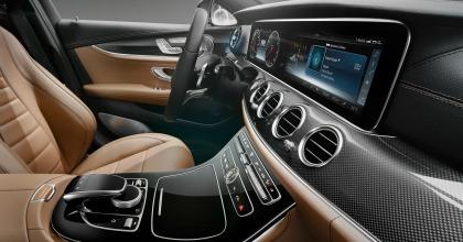 Nuova ammiraglia Mercedes interni