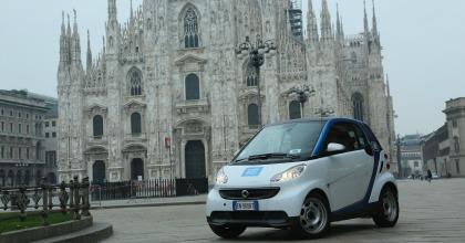 Car Sharing car2go Milano Smart