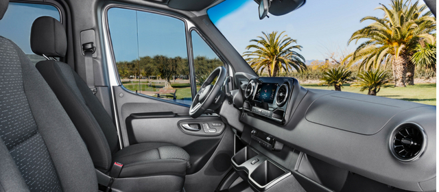 Nuovo Mercedes Sprinter 2018 interni