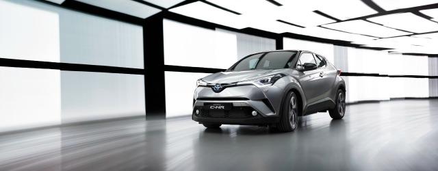 Nuovo Toyota C-HR Salone di Ginevra 2016