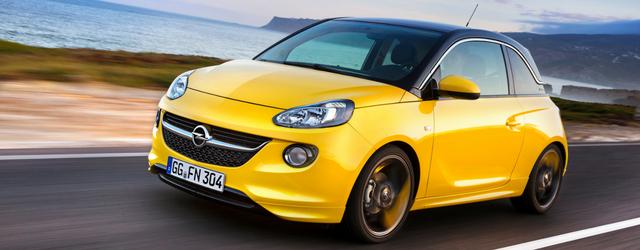 Opel Adam Euro 6 d-TEMP su strada