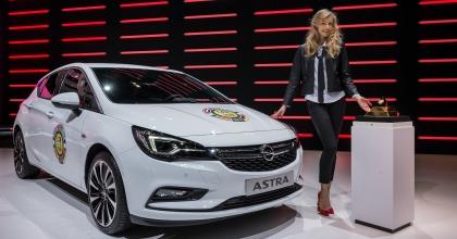 Opel Astra auto dell'anno 2016 salone di Ginevra 2016