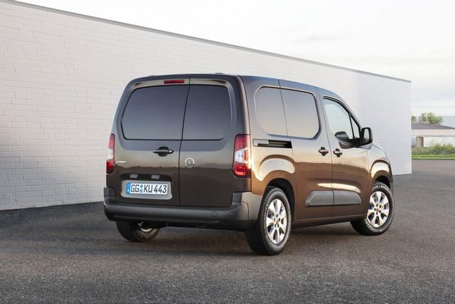 Capacità di carico di Opel Combo 2018