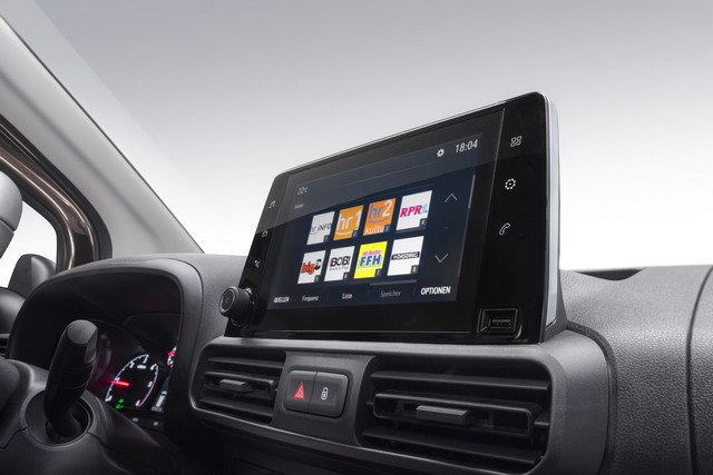 Infotainment Opel Combo 2018