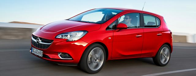 Opel Corsa Euro 6 d-TEMP nuovi motori
